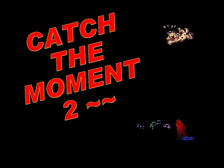 Catch the moment