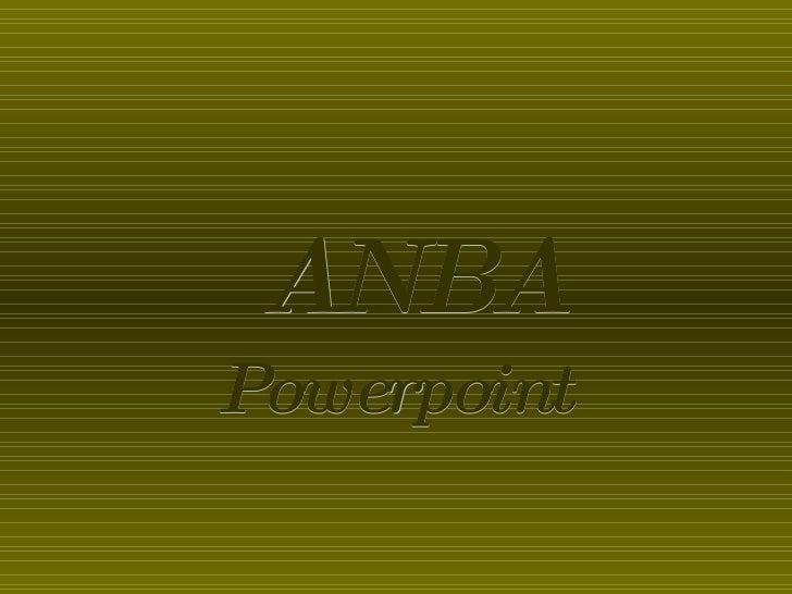Powerpoint ANBA