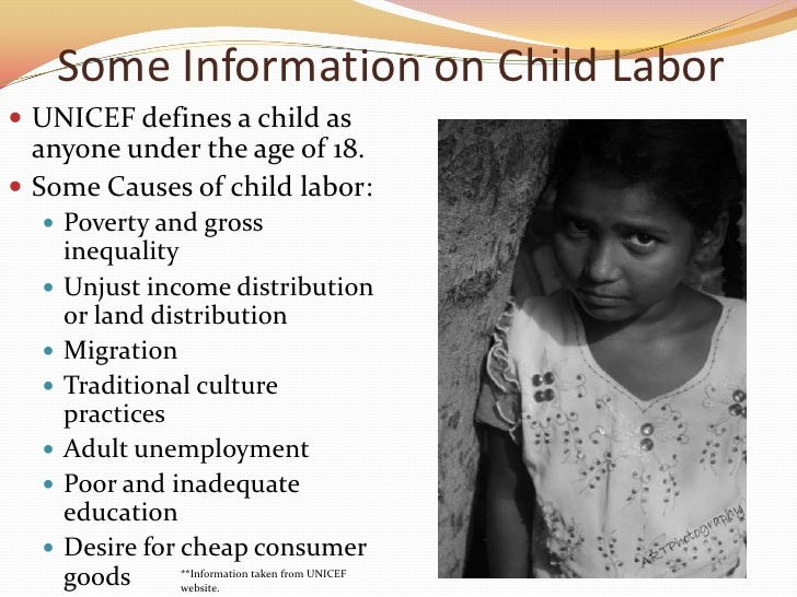 information on child labour wikipedia The term child actor or child actress is us federal law specifically exempted minors working the entertainment business from all provisions of the child labor.