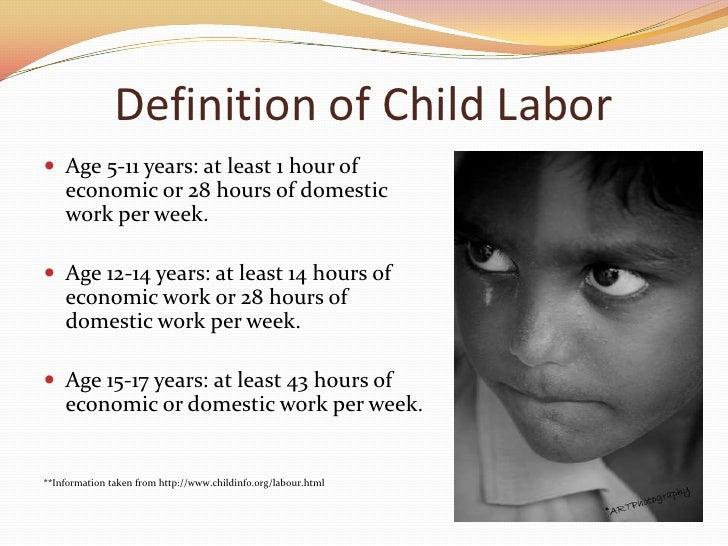 order essay and get it on time child labour define wqy