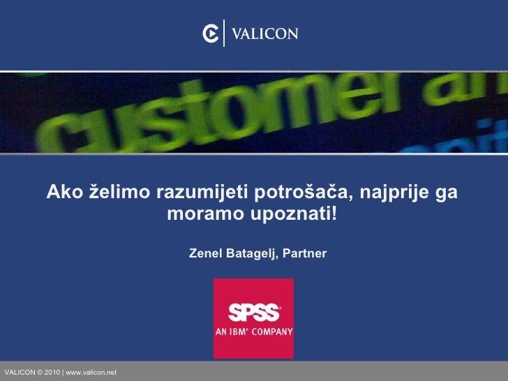 Zenel Batagelj: Ako želimo razumijeti potrošača, najprije ga moramo upoznati