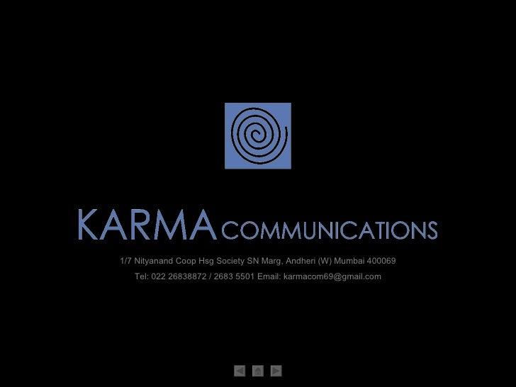 karma profile