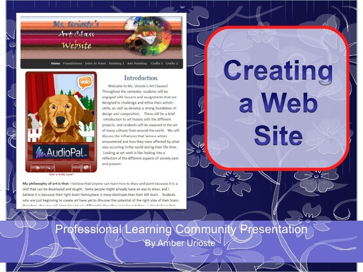 Weebly Website for Teachers