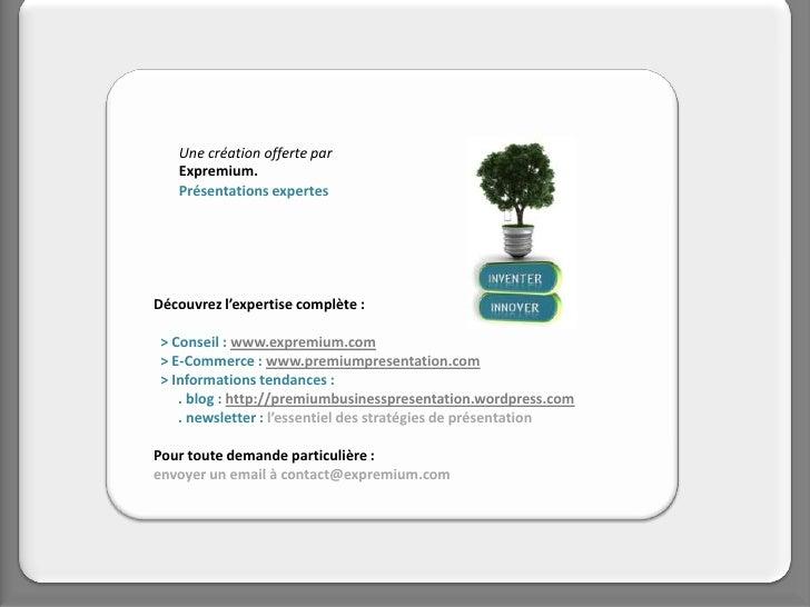 Une création offerte par    Expremium.    Présentations expertes     Découvrez l'expertise complète :   > Conseil : www.ex...