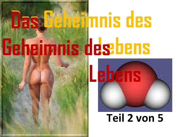 The biggest Mystery - Das Lebensgeheimnis
