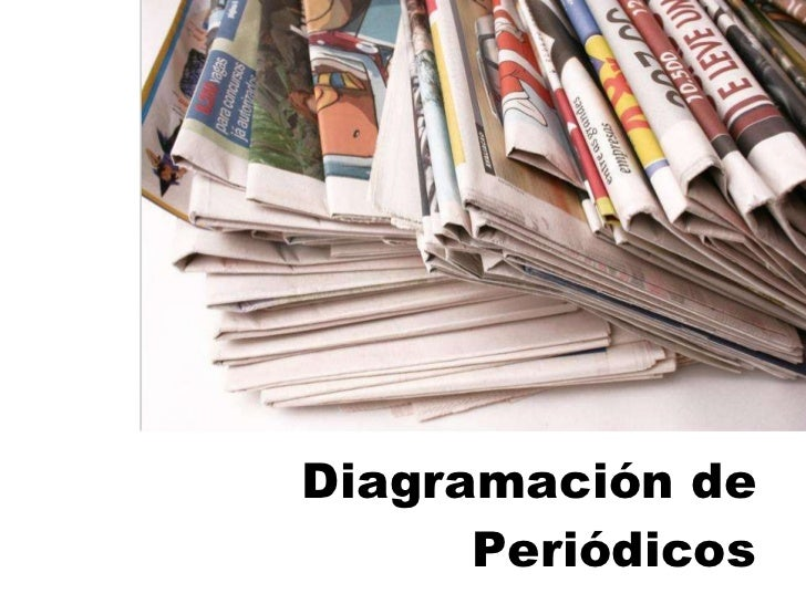 Diagramacion De Periodicos