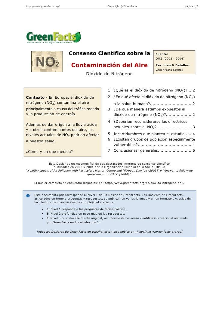 C:\Fakepath\Dioxido Nitrogeno No2 Greenfacts