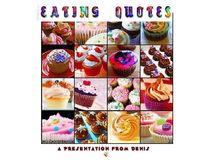 EATING QUOTES