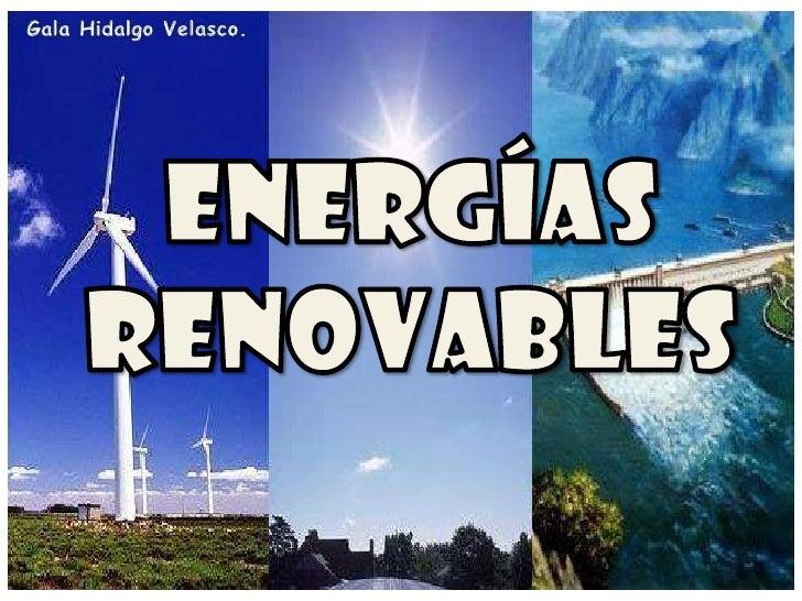3 tipos de energia: