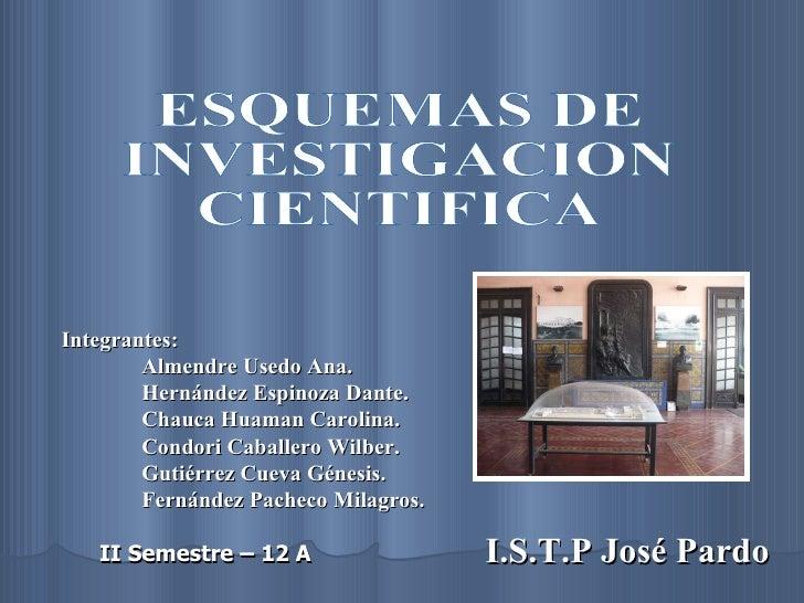 I.S.T.P José Pardo Integrantes: Almendre Usedo Ana. Hernández Espinoza Dante. Chauca Huaman Carolina. Condori Caballero Wi...