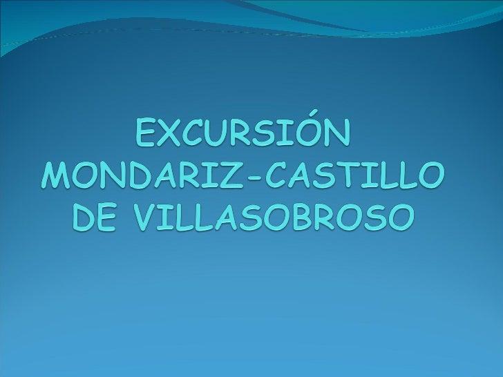 Excursión Mondariz, Castillo de Villasobroso