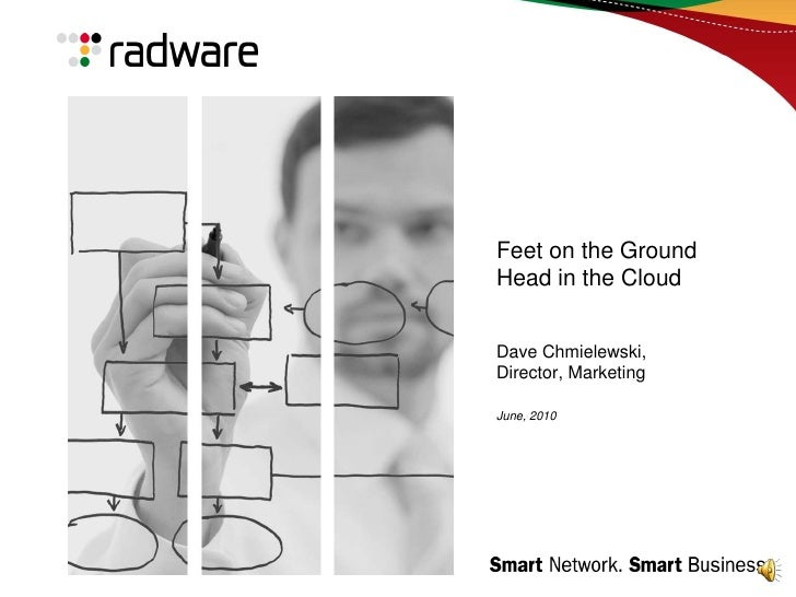 Feet on the GroundHead in the CloudDave Chmielewski, Director, Marketing June, 2010<br />