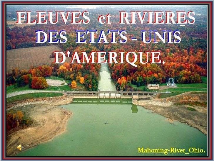 Fleuves et rivières des États-Unis d'Amérique