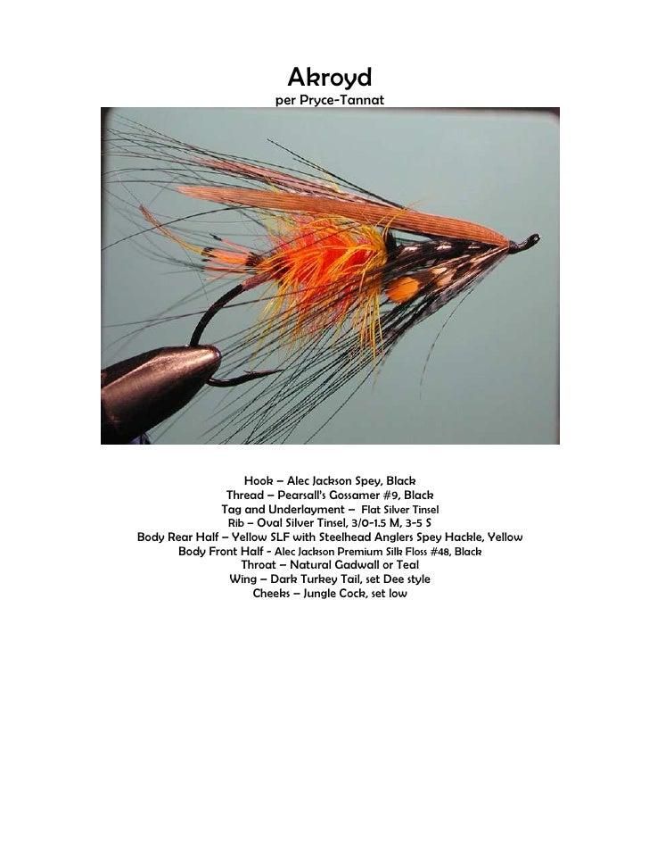 Akroyd                          per Pryce-Tannat                        Hook – Alec Jackson Spey, Black                 Th...