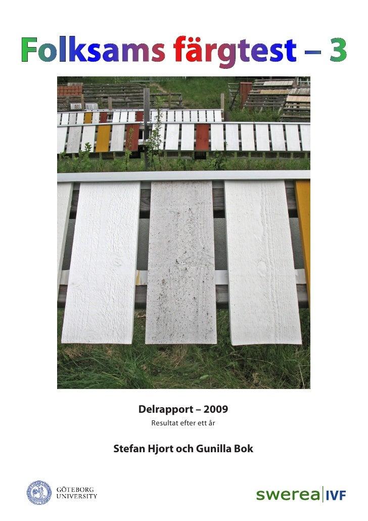 Folksams färgtest 2009