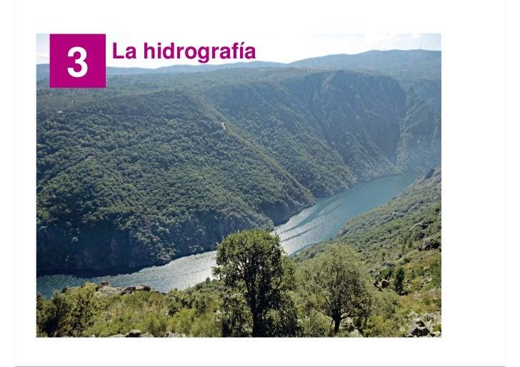 La hidrografía 3                          Santillana