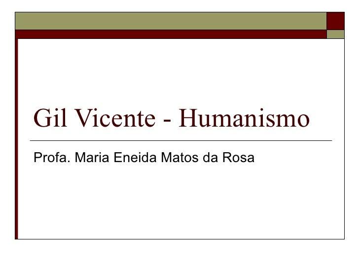 C:\Fakepath\Gil Vicente   Humanismo