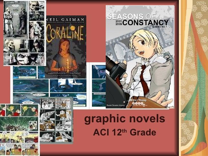 graphic novels ACI 12 th  Grade