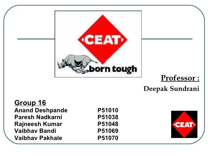 Group 16 Anand Deshpande P51010 Paresh Nadkarni  P51038 Rajneesh Kumar  P51048 Vaibhav Bandi P51069 Vaibhav Pakhale  P5107...