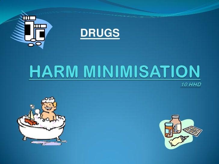 C:\fakepath\harm minimisation