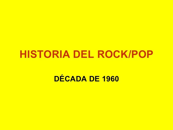 Historia Rock 60s