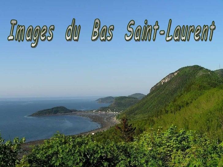 Images  du  Bas  Saint-Laurent
