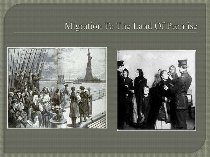 Migration To The Land Of Promise<br />