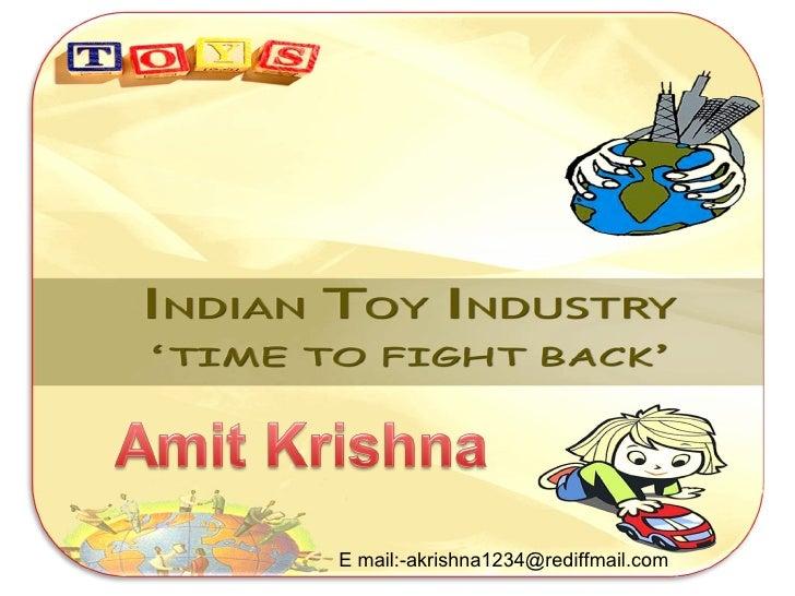 C:\fakepath\indian toy industry,amit krishna