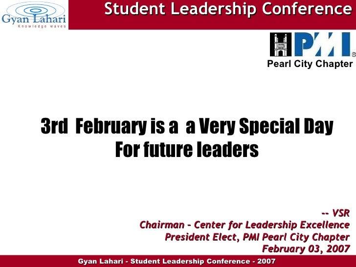 International Student Leadership Day