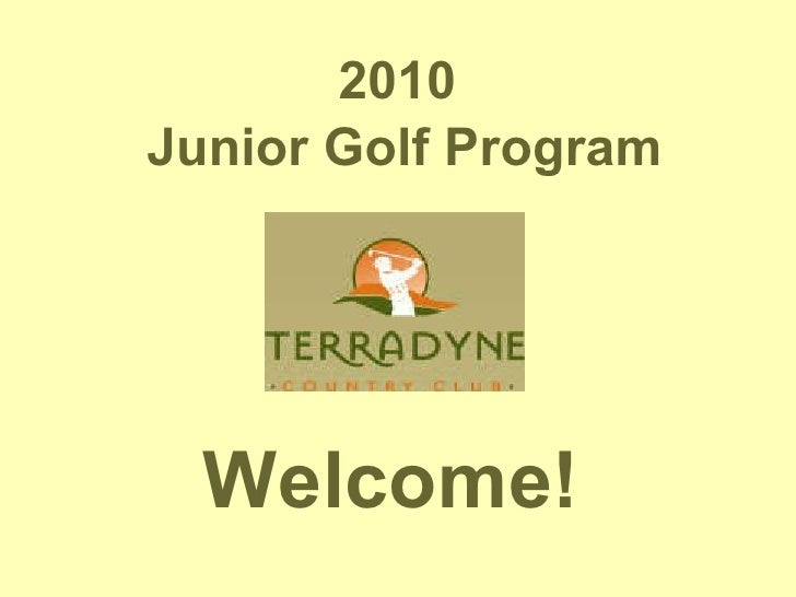 Junior Golf at Terradyne