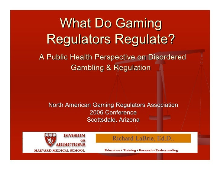 A Public Health Perspective on Gambling Disorders & Regulation (2006)