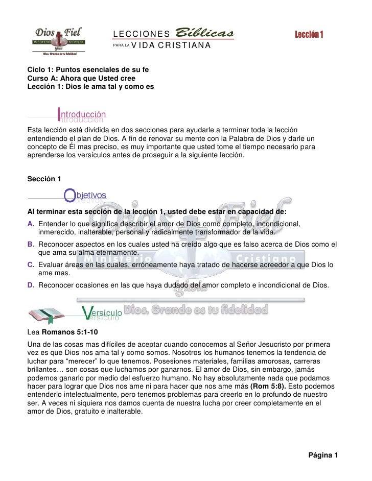 Discipulado de la vida Cristiana - Módulo 1 (Completo)
