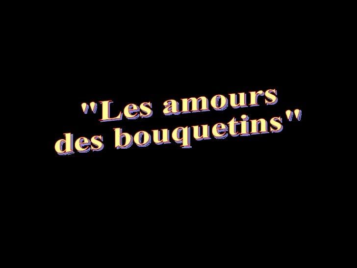 """""""Les amours  des bouquetins"""""""
