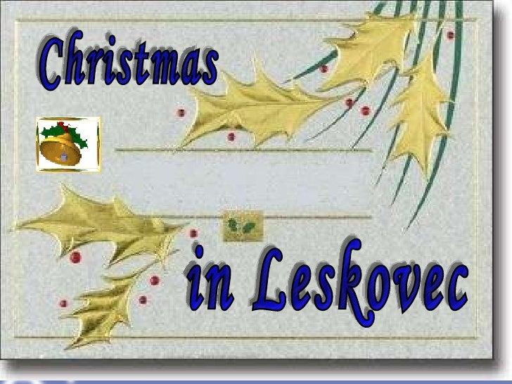 Christmas in Leskovec