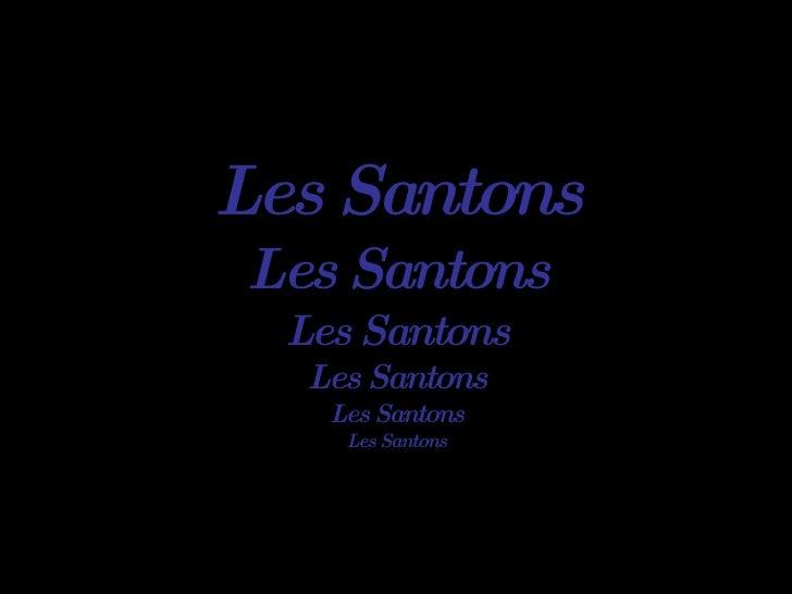Les Santons Les Santons Les Santons Les Santons Les Santons Les Santons