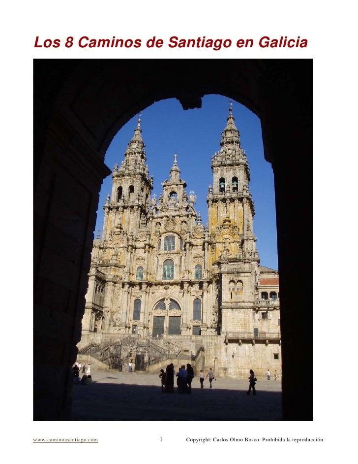 Los Caminos De Santiago En Galicia