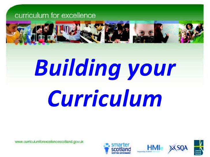 Building your Curriculum