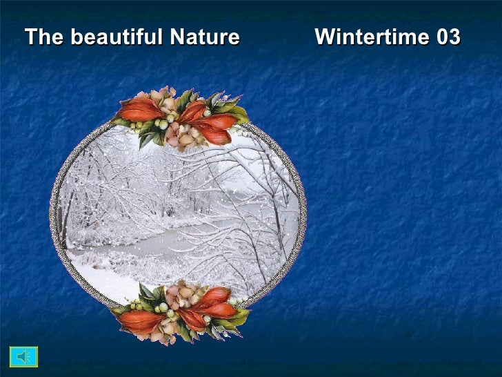 The beautiful Nature  Wintertime 03