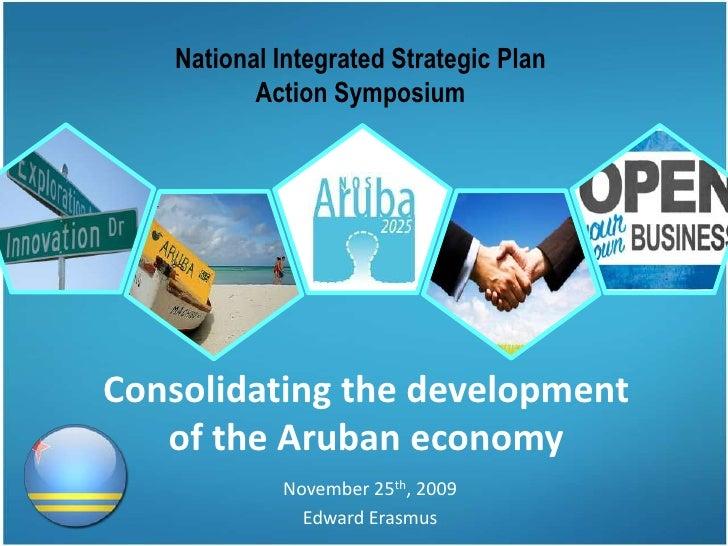 Consolidating the development of the Aruban economy (NISP)