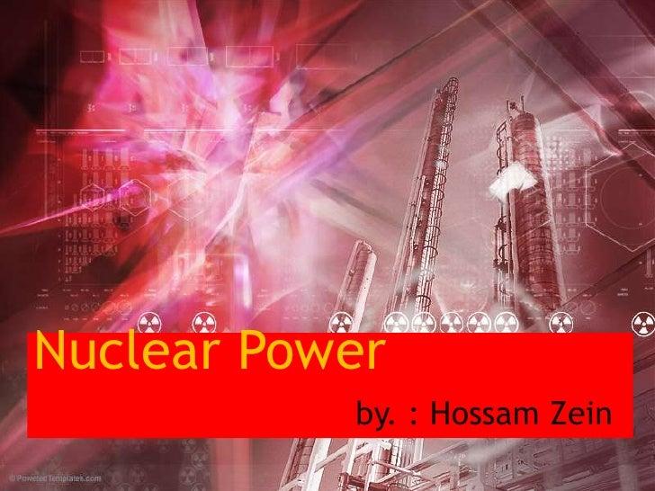 nuclear power نووي