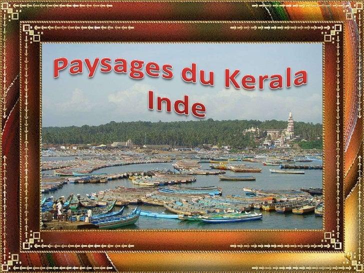 Paysages du Kerala, Inde