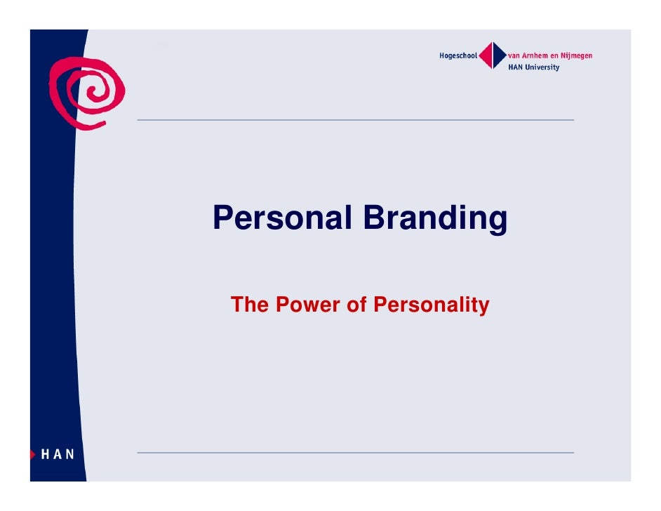Personal Branding   The Power of Personality