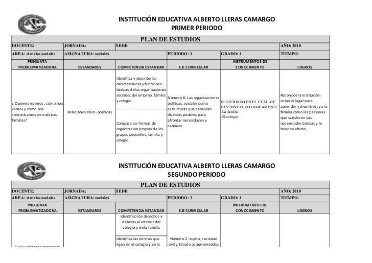 INSTITUCIÓN EDUCATIVA ALBERTO LLERAS CAMARGO                                                                              ...
