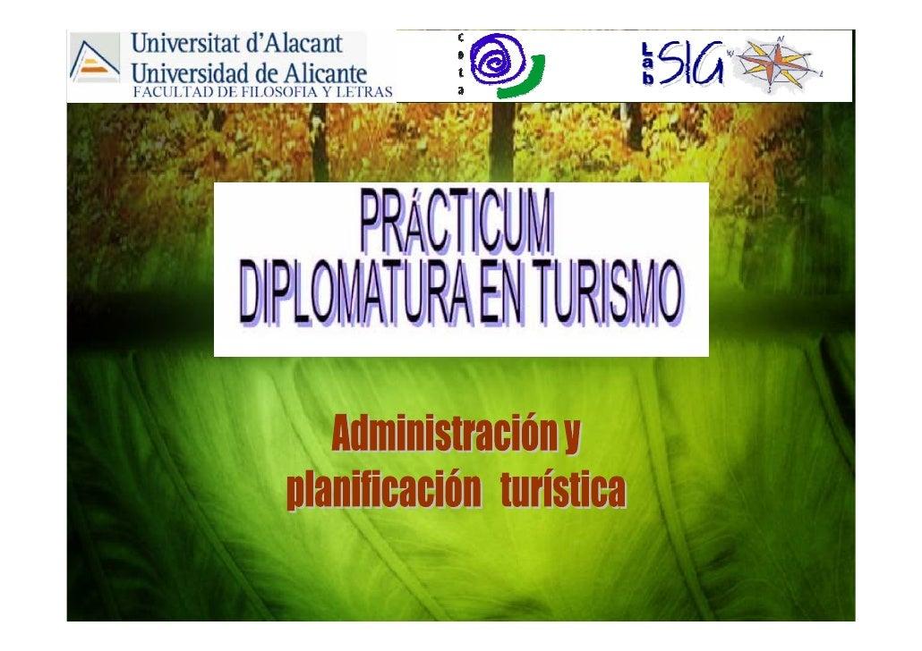 Practicum Turismo 2009