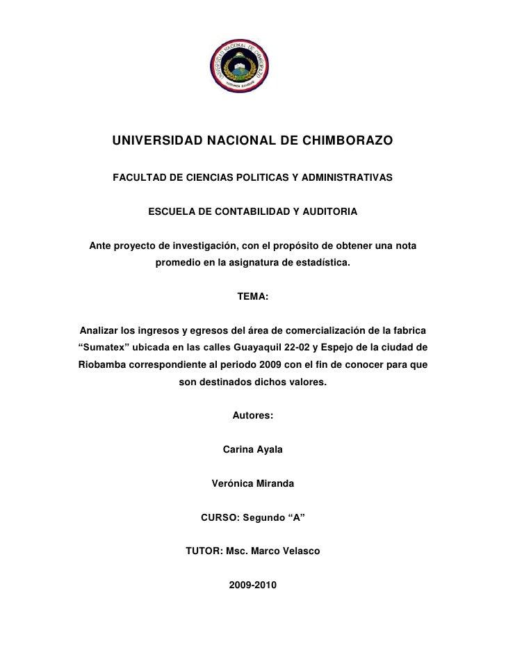 2133600-311785<br />UNIVERSIDAD NACIONAL DE CHIMBORAZO<br />FACULTAD DE CIENCIAS POLITICAS Y ADMINISTRATIVAS<br />ESCUELA ...