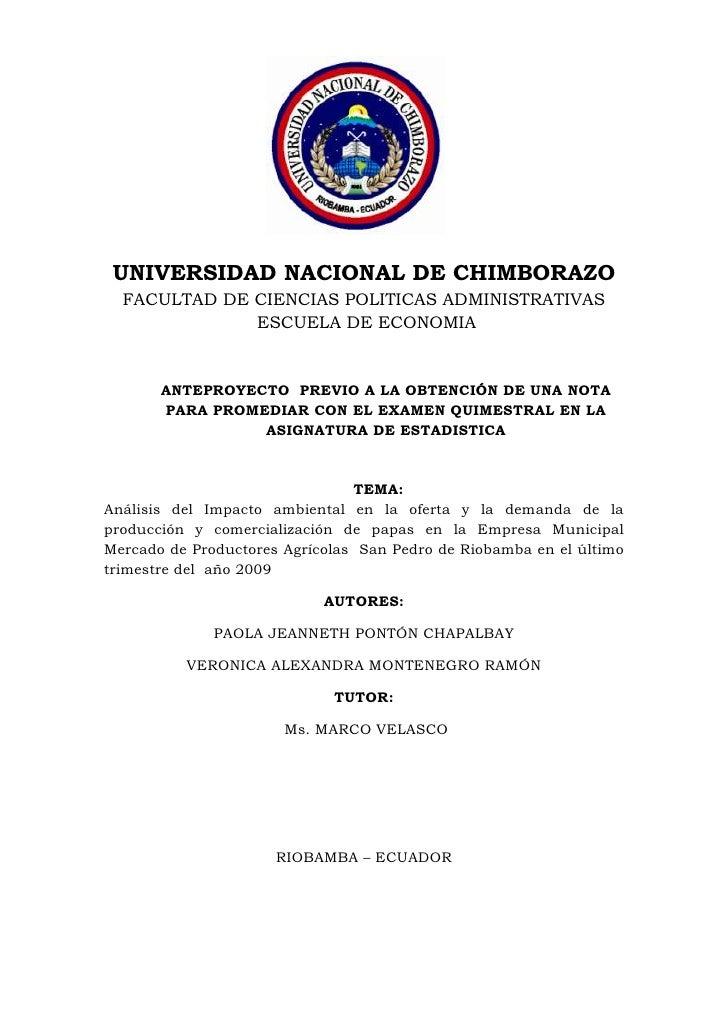 1685925-491490<br />UNIVERSIDAD NACIONAL DE CHIMBORAZO<br />FACULTAD DE CIENCIAS POLITICAS ADMINISTRATIVAS<br /> ESCUELA D...