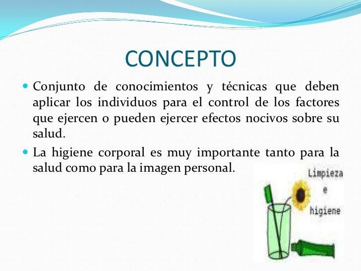IMPORTANCIA DE LA HIGIENE Y CONSERVACION DE LA SALUD EN NIÑOS