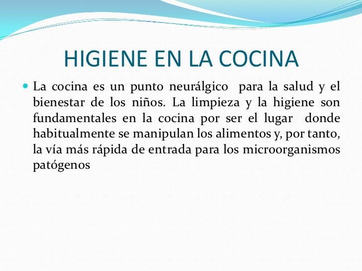IMPORTANCIA DE LA HIGIENE Y CONSERVACION DE LA SALUD EN NIu00d1OS