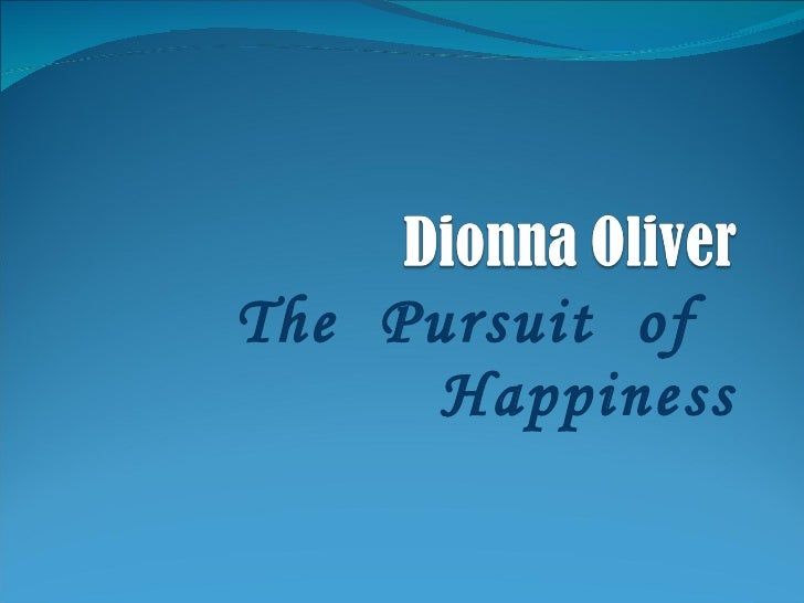 Nonnie's Pursuit of Happiness