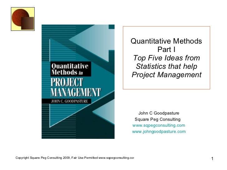 Statistics final project examples
